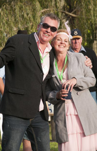 A fun day at the races - courtesy of Peter Young