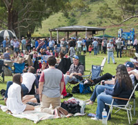 Picnic crowd - courtesy of Peter Young